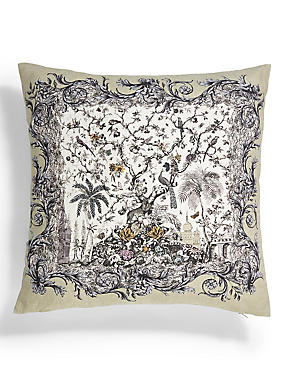Botanic Print Cushion