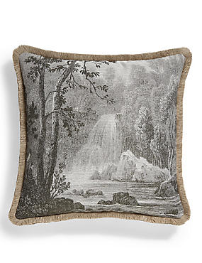 Waterfall Jacquard Cushion