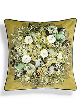 Floral Penny Cushion
