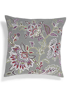 Cara Embroidered Cushion