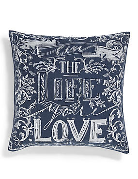 Live Life You Love Cushion