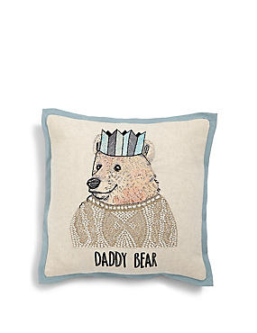 Daddy Bear Cushion