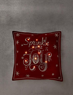 Sprinkle Joy Light-Up Cushion