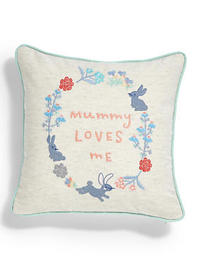 Mummy Loves Me Cushion