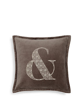 Ampersand Cushion