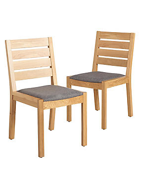 2 Sonoma Light Dining Chairs