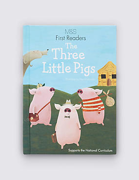 First Readers The Three Little Pigs Book