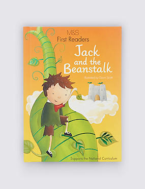 First Readers Jack & The Beanstalk Book