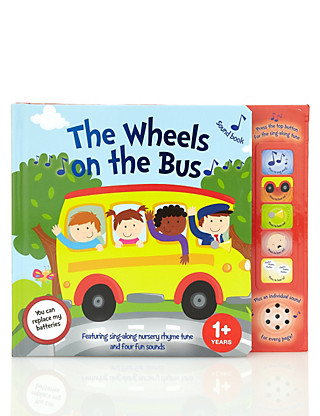 The Wheels on the Bus Sound Book Home