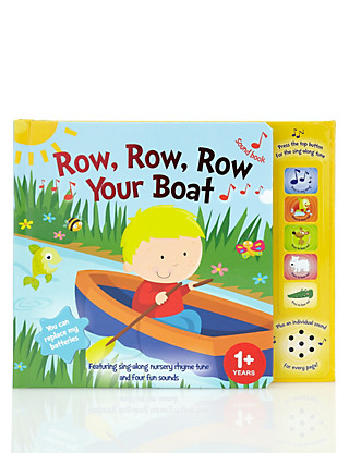 Row, Row, Row Your Boat Sound Book Home