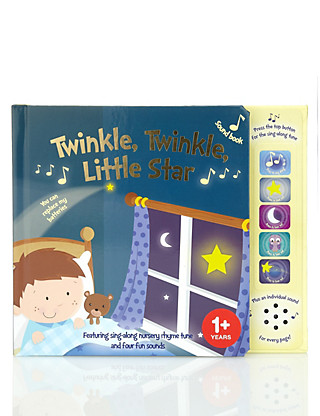 Twinkle, Twinkle, Little Star Sound Book Home