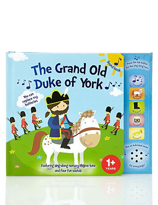 The Grand Old Duke of York Sound Book Home