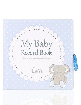 My Baby Record Book Home