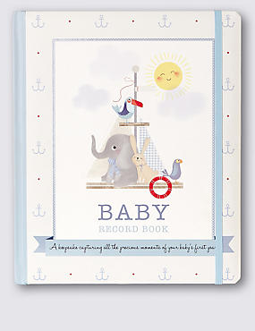 Blue Baby Book