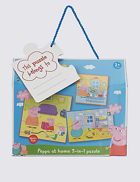 Peppa Pig™ at Home 3 in 1 Puzzle Multi-Pack