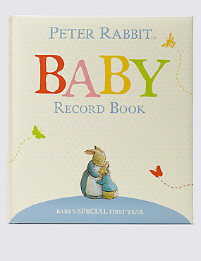 Peter Rabbit™ Baby Record Book , , catlanding
