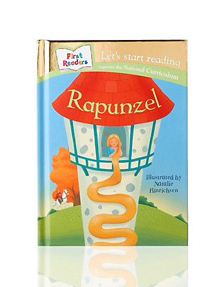 Rapunzel Story Book Home