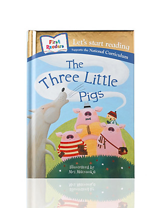 The Three Little Pigs Story Book Home