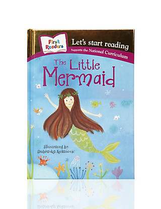 First Readers The Little Mermaid Story Book Home