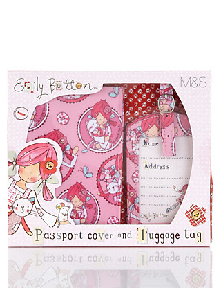 Emily Button™ Passport Set Home