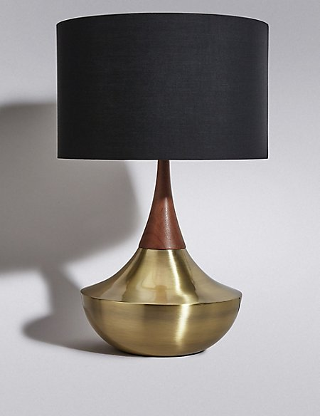 Tribe shaded table lamp ms tribe shaded table lamp mozeypictures Gallery