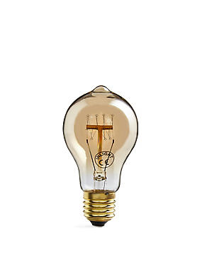 Vintage Style Tinted Globe Filament Bulb
