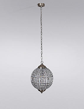 Gem Ball Small Ceiling Pendant