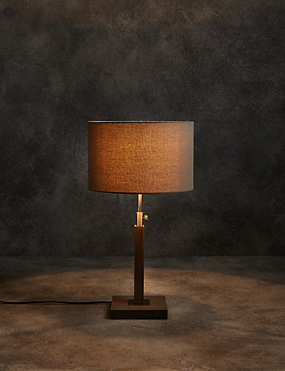 Devon table lamp ms for Table lamp marks and spencer