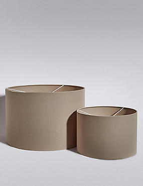 Drum Lamp Shades, MOCHA, catlanding
