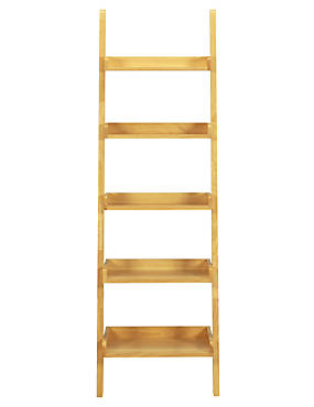 Step Ladder Shelving - Natural