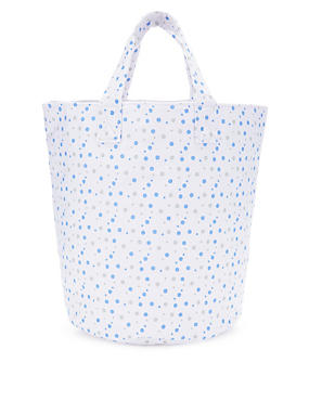 Small Spotted Storage Bag