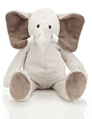 Dangly Elephant Soft Toy Home