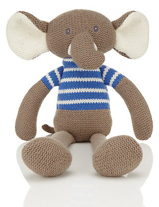 Knitted Elephant Toy Home