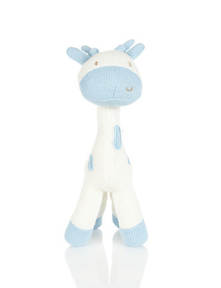 Knitted Giraffe Soft Toy Home