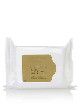 Age Replenish Facial Cleansing Wipes Home