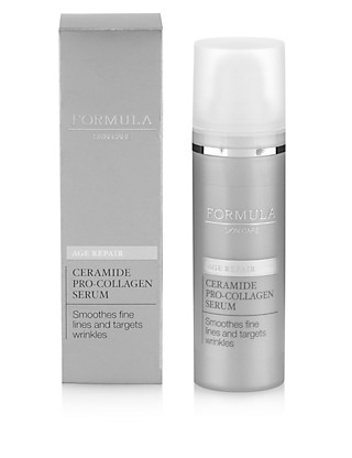 Skin Care Age Repair Ceramide Collagen Serum 30ml Home