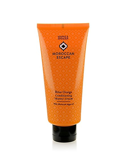 Moroccan Escape Bitter Orange Shower Cream with Argan Oil 200ml