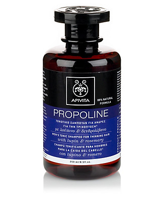 Propoline Lupin & Rosemary Men's Tonic Shampoo 250ml Home