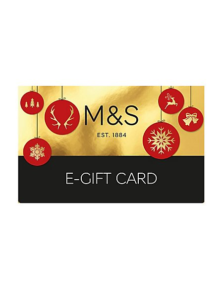 Christmas Baubles E-Gift Card