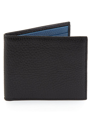 Leather 2 Tone Mattise Wallet Clothing