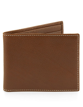 Leather East West Wallet Clothing