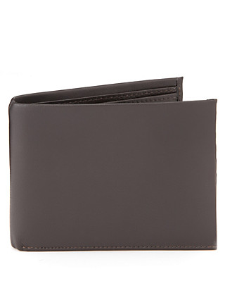 Leather Tab Billfold Wallet Clothing