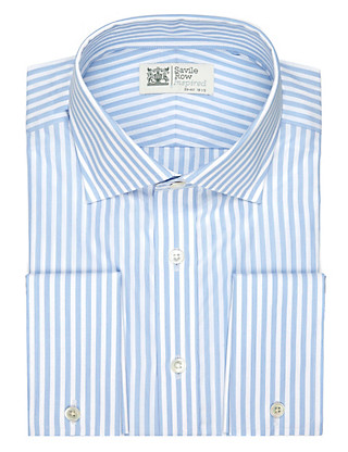 Pure Cotton Hairline Bold Striped Shirt Clothing
