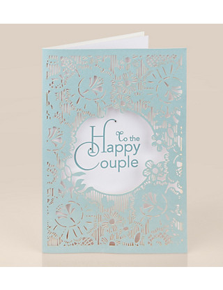 Laser Cut Craft Wedding Card Home