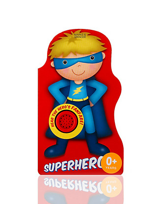 Super Hero Book Home