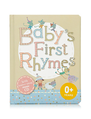 Baby's First Rhymes Book Home
