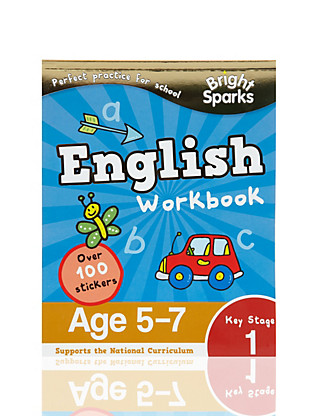 Bright Sparks Key Stage 1 English Workbook Home