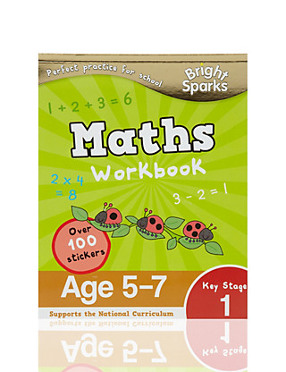 Bright Sparks Key Stage 1 Maths Workbook Home