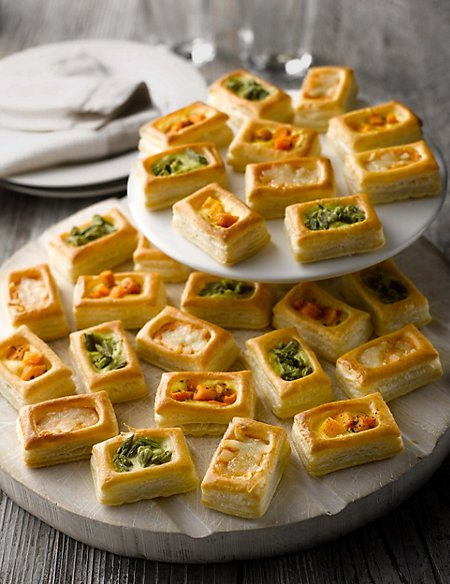 27 Vegetarian Vol-Au-Vents (27 Pieces)