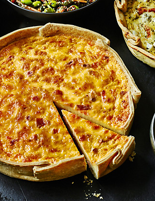 Handcrafted Quiche Lorraine Food